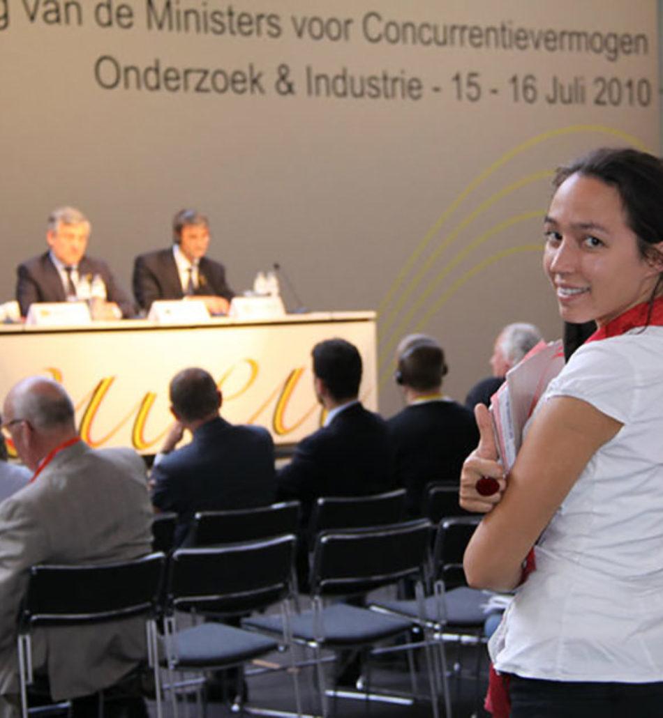 PRESIDENCE BELGE DE L'UNION EUROPENNE POUR LA RECHERCHE SCIENTIFIQUE en 2010
