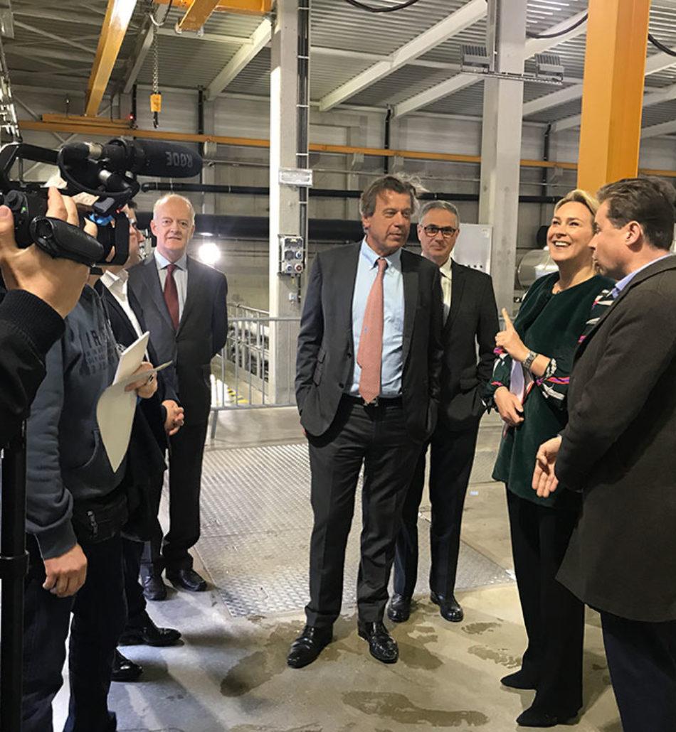 INAUGURATION DE LA STATION D'EPURATION STEP SUD en 2019